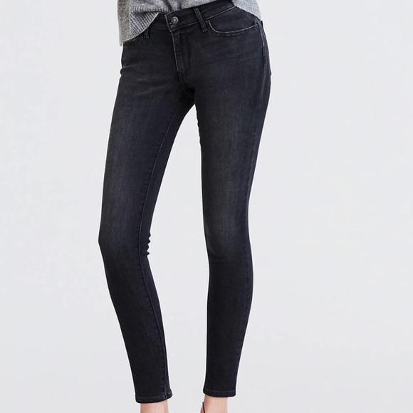 c0a73817a0564 Levi's Jeans | Levis Black Jean Leggings Skinny | Poshmark